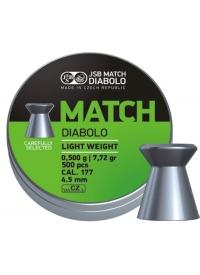 [Strelivo Diabolo JSB Match Light weight 500ks 4,50mm]