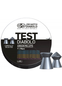 [Strelivo Diabolo JSB Test Match 4,5mm 350ks]