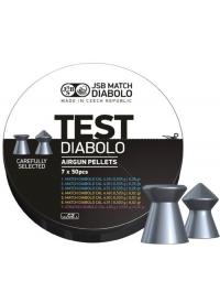 [Strelivo Diabolo JSB Test Match 4,5mm 350ks]