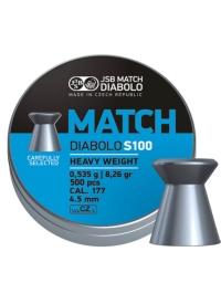 [Strelivo Diabolo JSB Match S100 500ks]