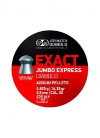 [Strelivo Diabolo JSB Jumbo Express Exact 5,52 mm 250ks]