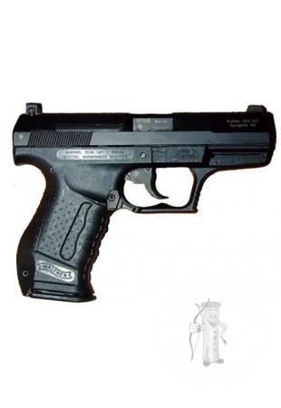 Pištoľ Walther P99 black