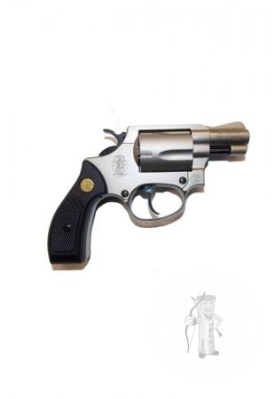 Revolver exp. S&W Chiefs Special nickel